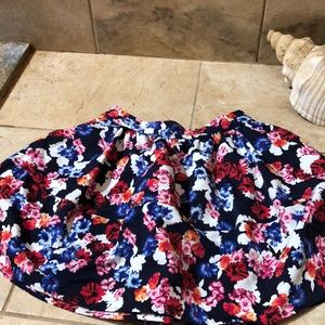 Express floral skirt size 4.. worn once